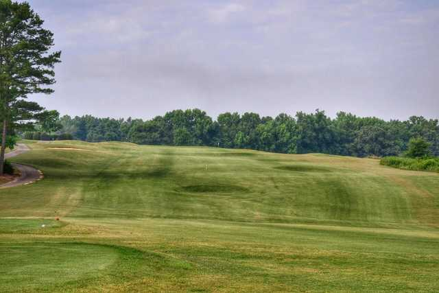 A view from tee #9 at Double Oaks Golf Club.