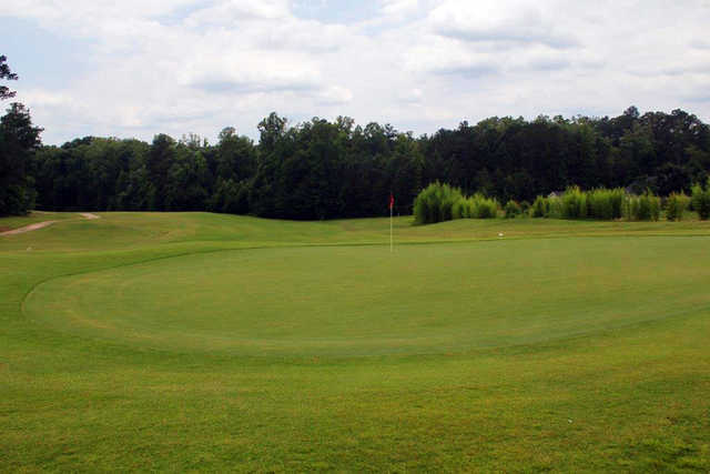 A view of a hole at Bear Creek Golf Club.