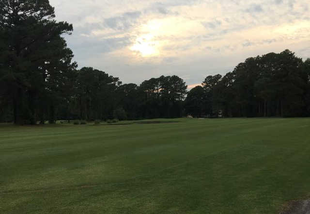 A view of a fairway at River Bend Golf & Country Club.