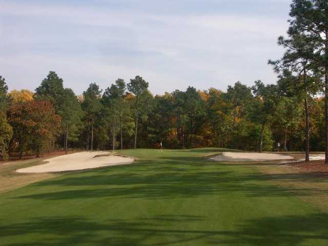 A view of the 8th hole at Pines Course from Country Club of Whispering Pines