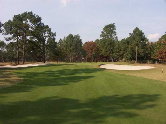 A view of hole #16 at Pines Course from Country Club of Whispering Pines