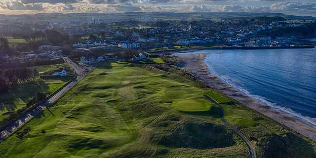 Aerial view from Ballycastle Golf Club