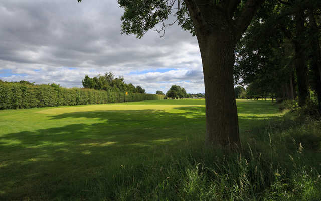 A view of a hole at Derwent Course from Malton & Norton Golf Club.
