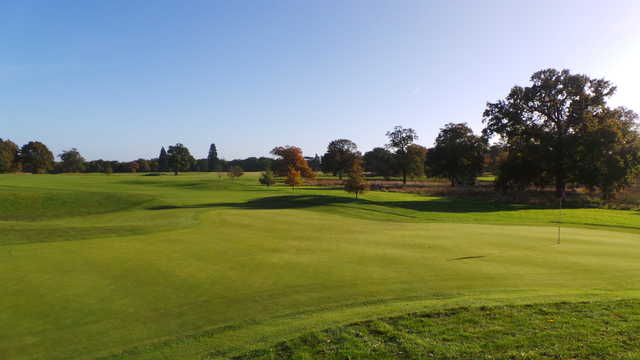 View of a green at Luton Hoo Hotel, Golf, & Spa