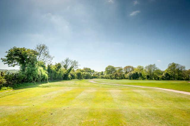 A view from tee #6 at Taunton & Pickeridge Golf Club.