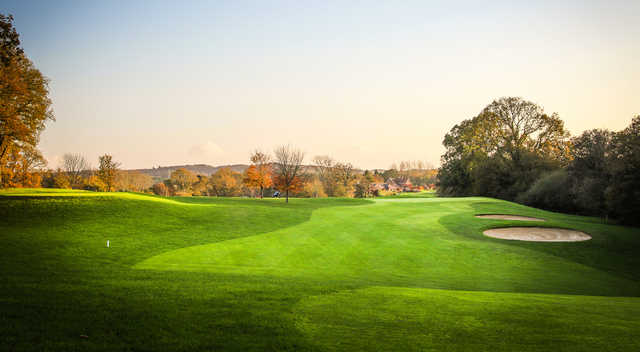 A view from Hamptworth Golf & Country Club