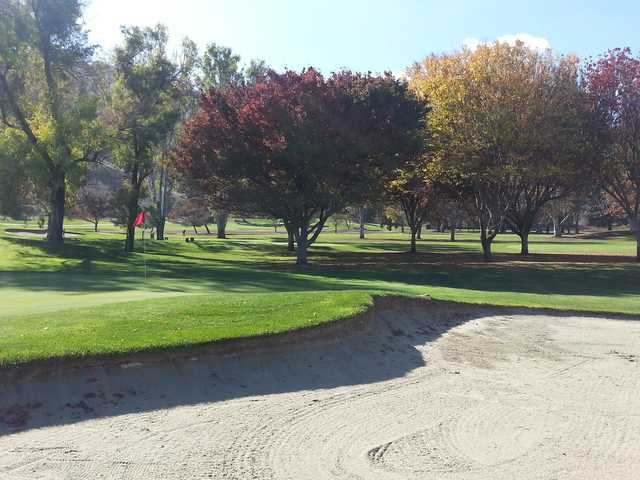 View of a green from Eighteen Hole Regulation at Santa Teresa Golf Club