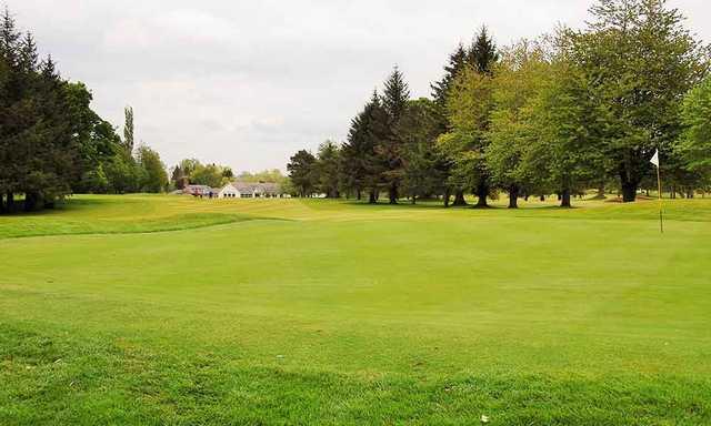 A view of hole #1 at Hamilton Golf Club.