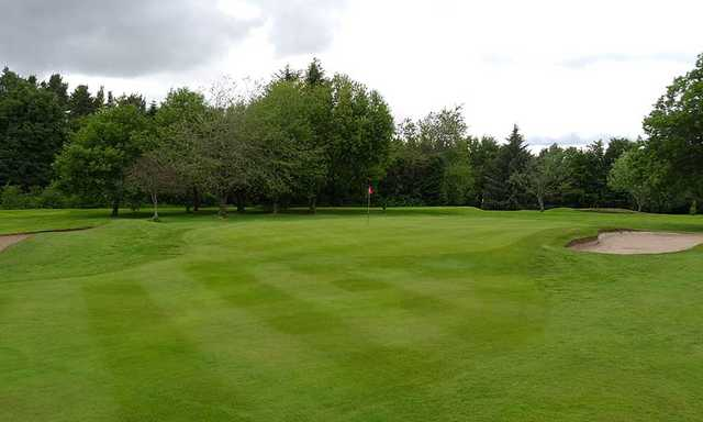 A view of the 17th green at Hamilton Golf Club.