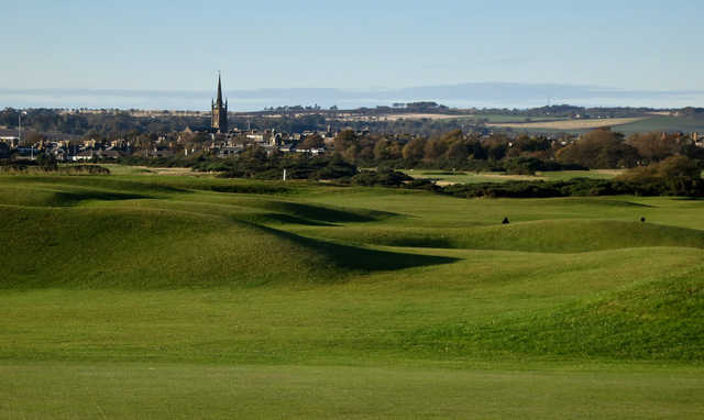 A view from Medal Course at Montrose Golf Links.