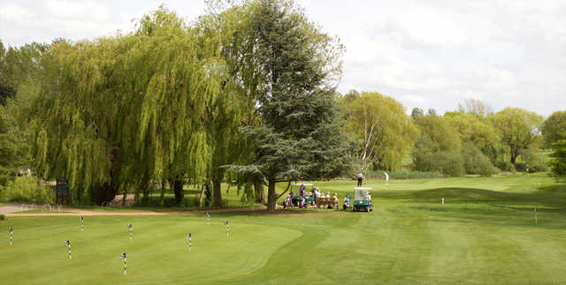View of the putting green at The Cambridgeshire Golf Club