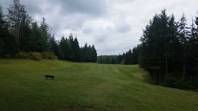 A view from Highland Golf Course