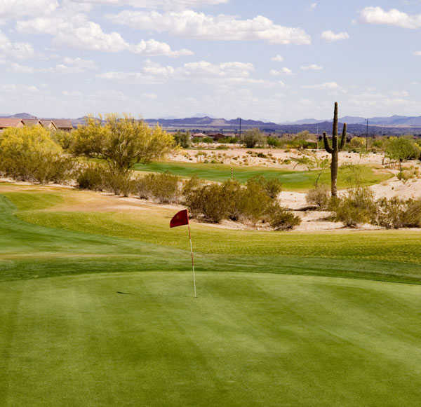 A view of green at Sundance Golf Club