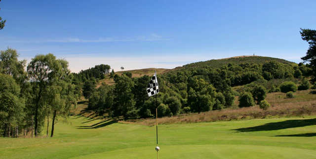 A view from a green at The Lynedoch Course from Murrayshall Golf Club.