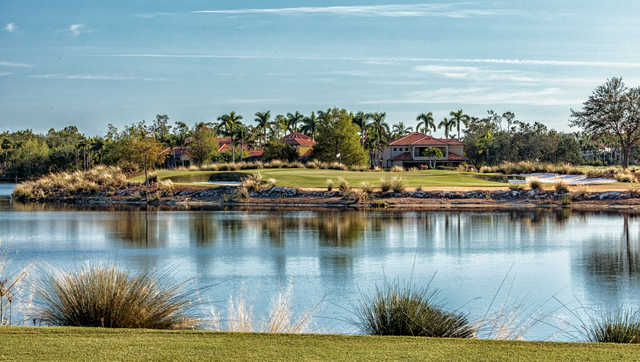 View of the 5th hole from the Gold Course at Tiburón Golf Club