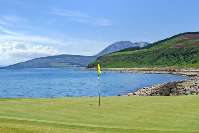View from the 4th green at Shiskine Golf & Tennis Club