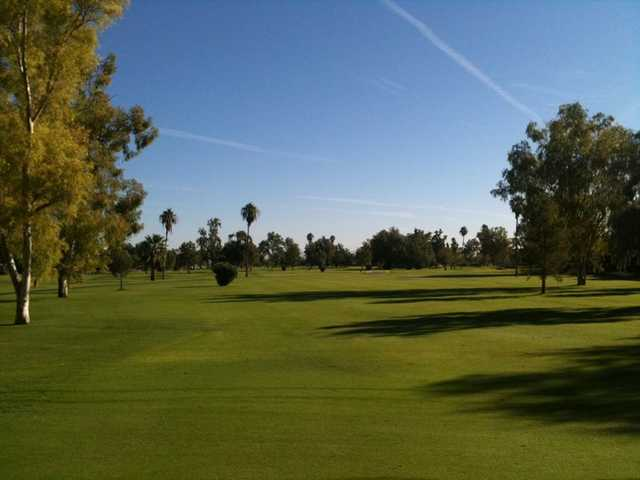 A view of the 12th fairway at Crowne Plaza San Marcos Golf Resort