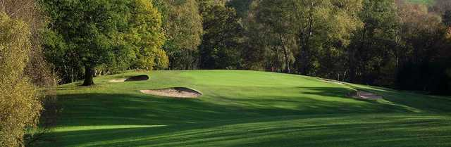 View of a green at Congleton Golf Club