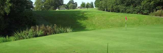 View from a green at Congleton Golf Club
