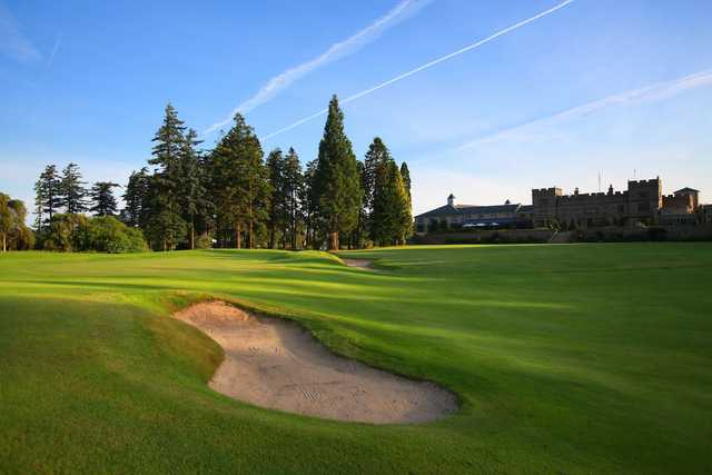 A view of a green at Slaley Hall Hotel & Golf.