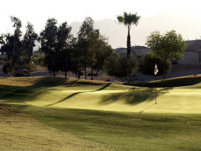 A view of green at Lone Tree Golf Club
