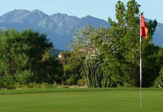 A view from Santa Rita Golf Club