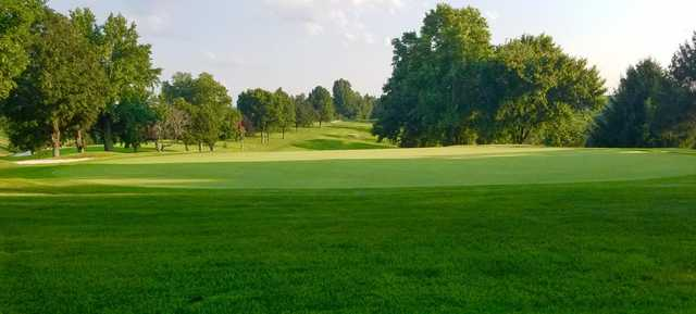 A view of hole #17 at Steubenville Country Club.