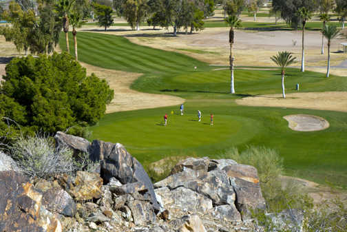 A view from Tres Rios Golf Course at Estrella Mountain Park