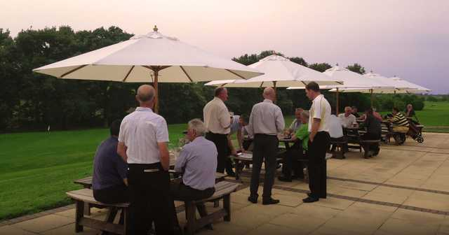 View from the terrace at Romanby Golf & Country Club