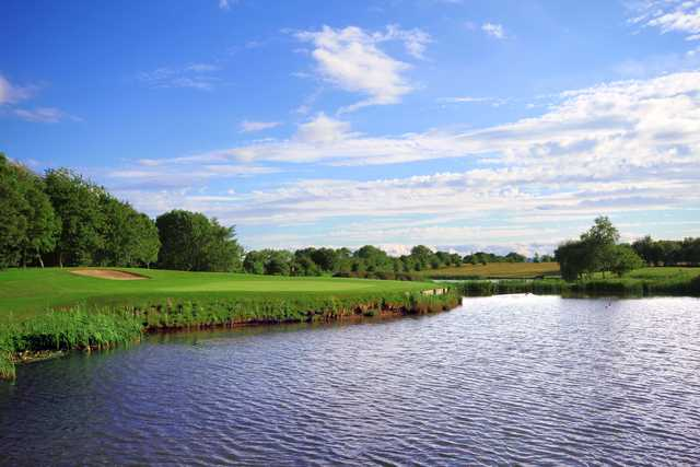 View of the 11th green at Romanby Golf & Country Club