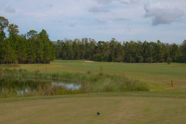 A view from tee #18 at Grand Reserve Golf Club.