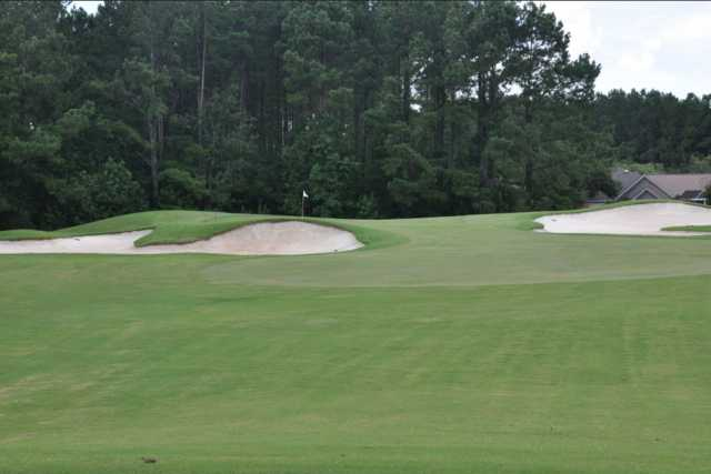 A view of hole #2 at Hidden Cypress Golf Club.