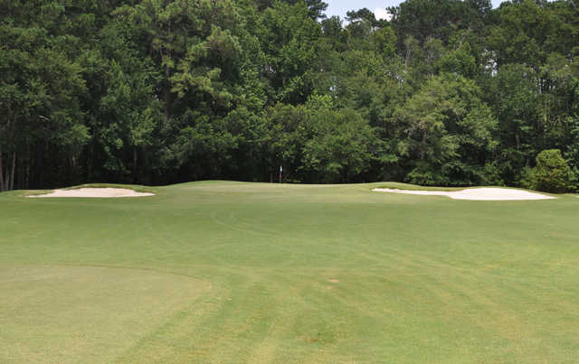 A view of hole #8 at Okatie Creek Golf Club.