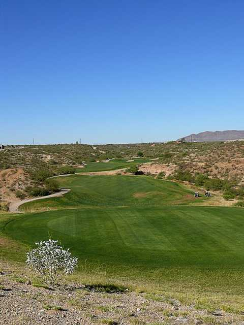 A view of hole #11 at Canoa Ranch Golf Club
