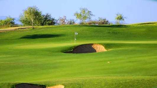 A view of the 7th green at Canoa Ranch Golf Club