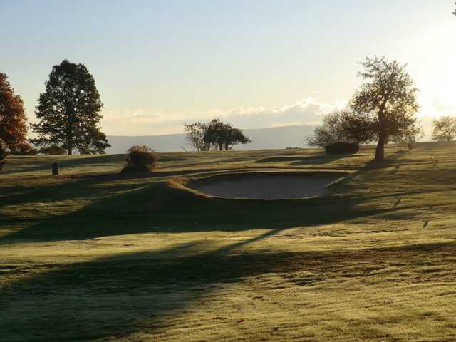 A view from Farmingbury Hills Golf Club