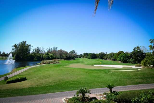 A view of a hole at Boca Rio Golf Club.
