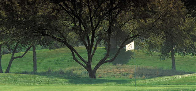 A view of a hole at Tanoan Country Club.