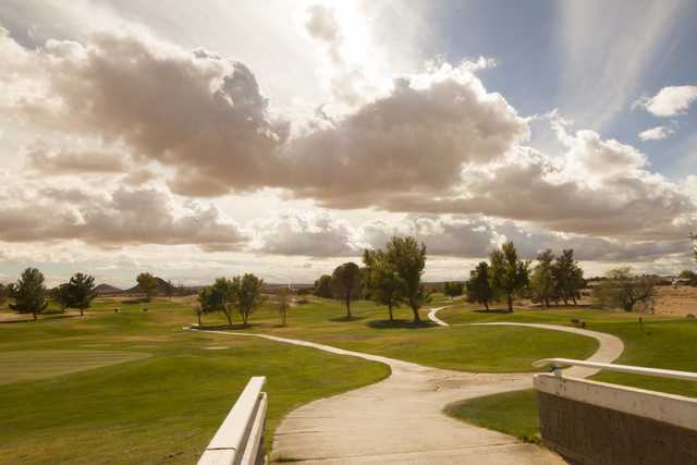 A view from Tierra del Sol Golf Club.