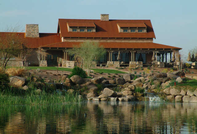 A view of the clubhouse at The Duke - Rancho El Dorado