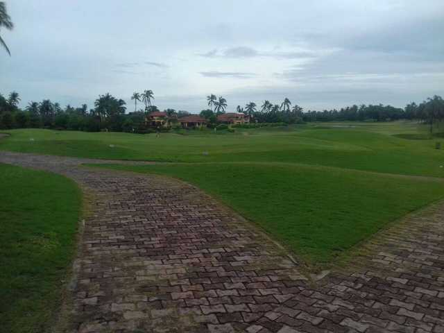 A view from Isla Navidad Country Club.