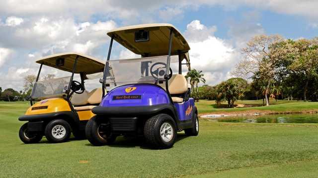 A view from Hard Rock Golf Club Riviera Maya.