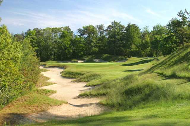 A view of the 2nd hole at Ridge Club.