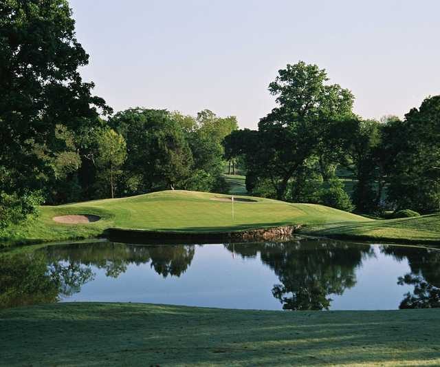 A view over the water from Bear Creek Golf Club.