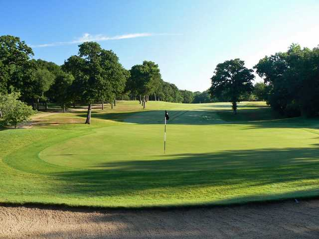 A sunny day view from Bear Creek Golf Club.