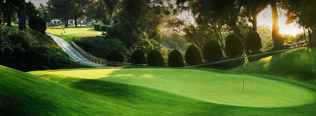 A view of a green at La Jolla Country Club.