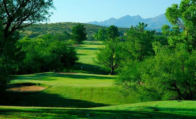 A view from Kino Springs Golf Course
