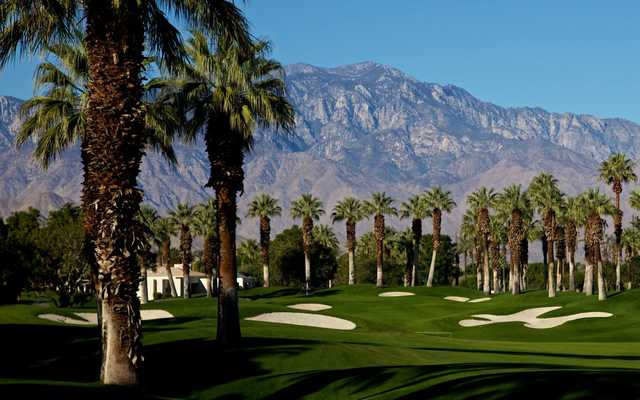 A view from Marriott's Desert Springs Resort.