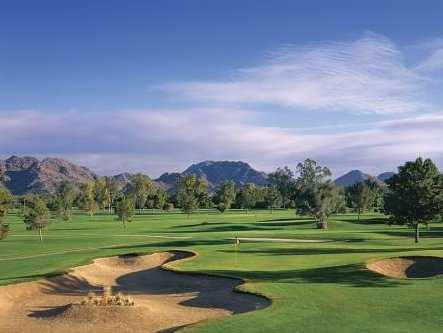 A view of green at Arizona Biltmore Golf Club - Adobe Course