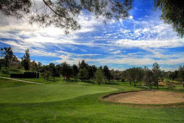 A view of a green at Victoria Club.